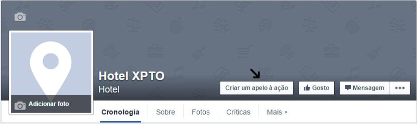Apelo à ação Facebook