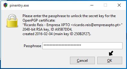 Encriptar emails