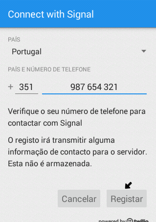 Encriptar chamadas telefónicas