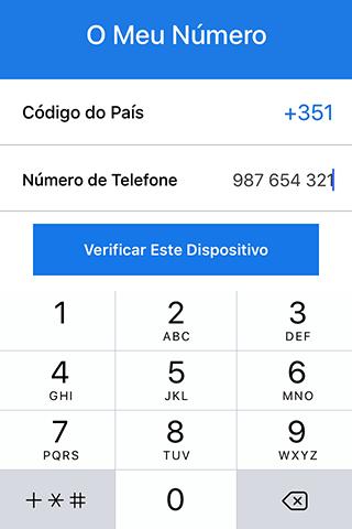 Fazer chamadas encriptadas
