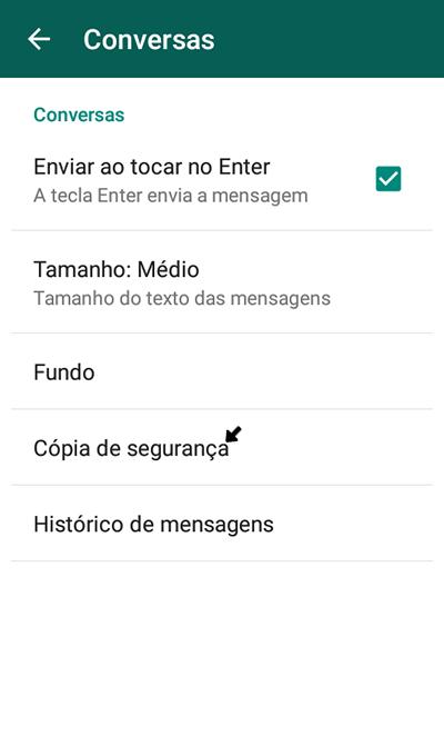 Privacidade WhatsApp