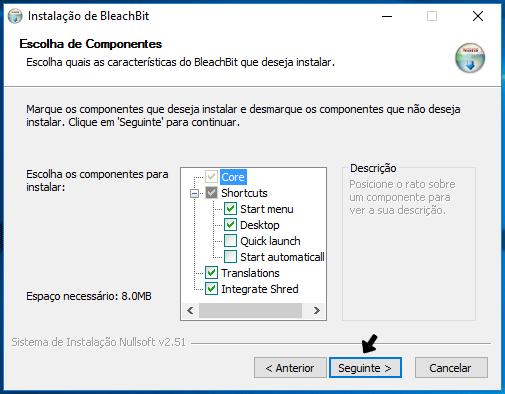 Apagar ficheiros