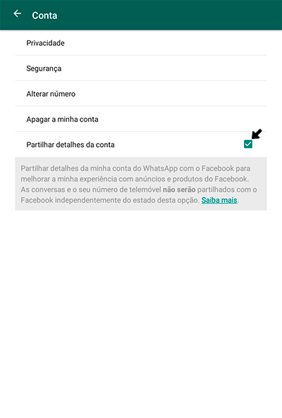 WhatsApp partilha dados dos utilizadores