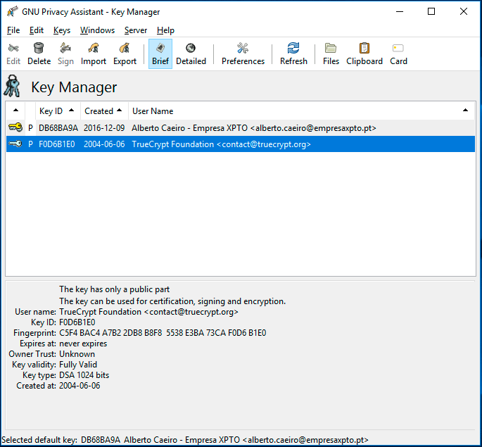 Verificar integridade downloads
