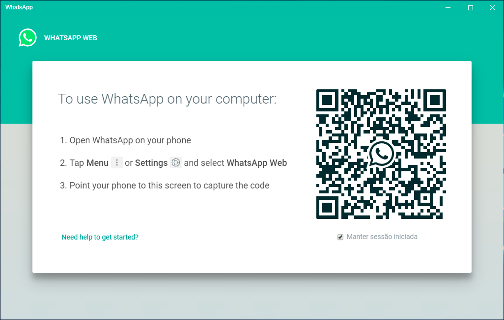 Instalar WhatsApp PC