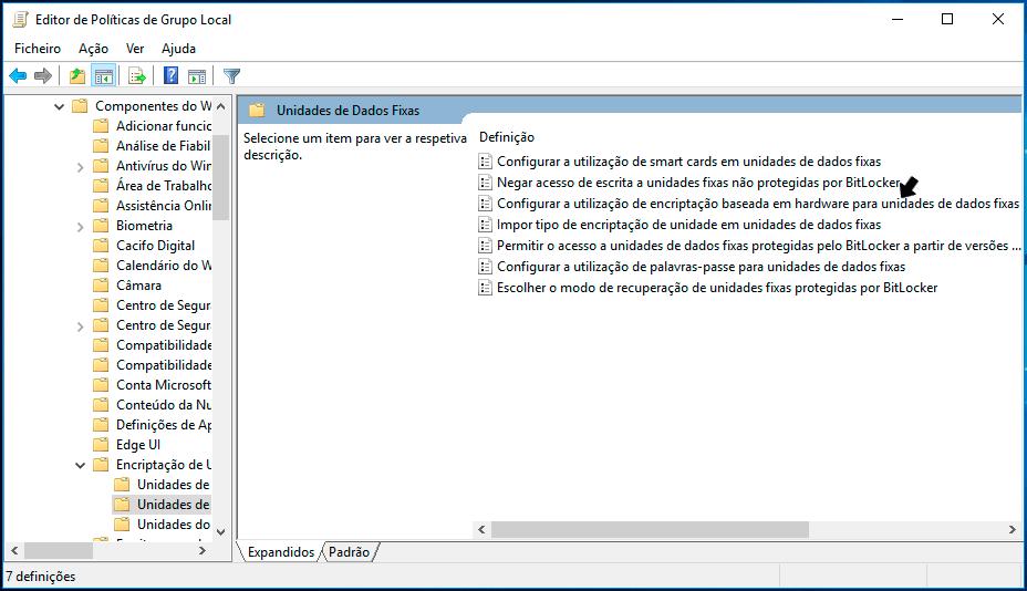 Discos SSD com encriptação