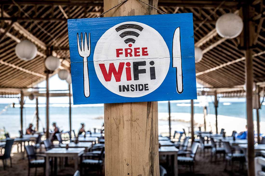 Riscos redes Wi-Fi públicas